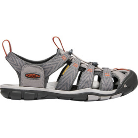 Keen Clearwater CNX Sandalias Hombre, grey flannel/potters clay